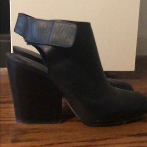 Black Vince Booties - Size 7
